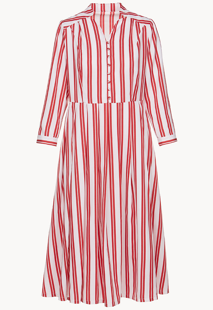 Bold Stripe Dress - Fresqa
