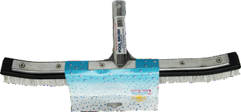 "TropiClear Aluminium 18"" Pool Brush"
