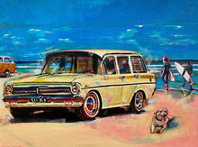 "Load image into Gallery viewer, ""Cruisin For Surf"" by Carl (CAKUart)"