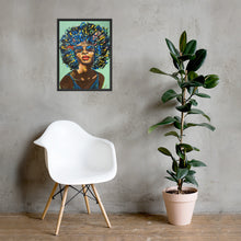 Load image into Gallery viewer, Sweet Angel Framed Print 60.9cm x 45.7cm Limited Edition - Black Frame