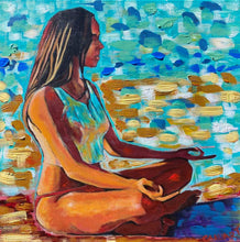 "Load image into Gallery viewer, ""Her Tranquillity"" by Carl (CAKUart)"