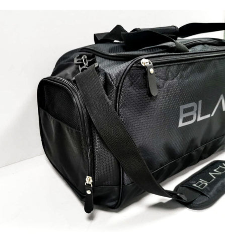 Actively Black Duffel Bag