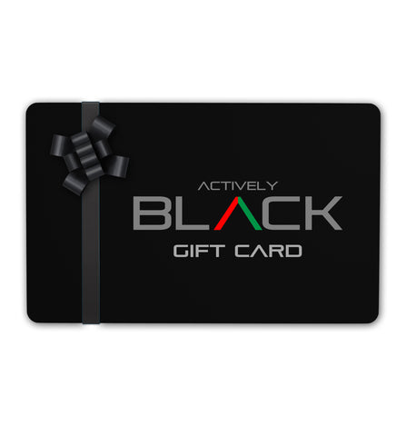 Actively Black Gift Card