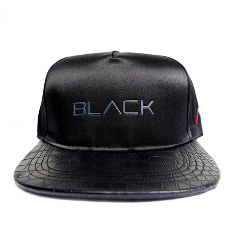 Actively Black Premium Snapback