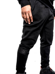 Men's Black Band Luxe Joggers