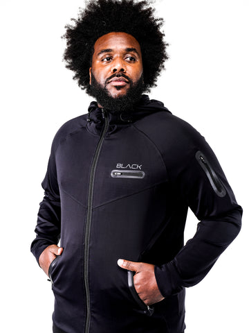 Men's Zipper Performance Hoodie
