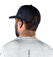 Actively Black Rubber Patch Performance Hat