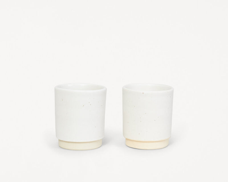 Otto Cup White | Set of two
