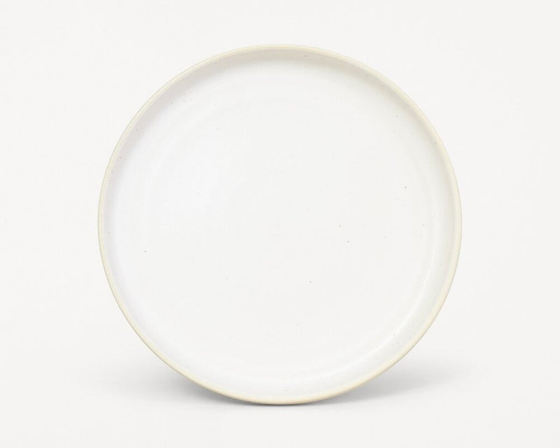 Otto Plate White (L) - Set of two