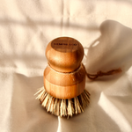 Load image into Gallery viewer, Bamboo & Sisal Pot Scrubber