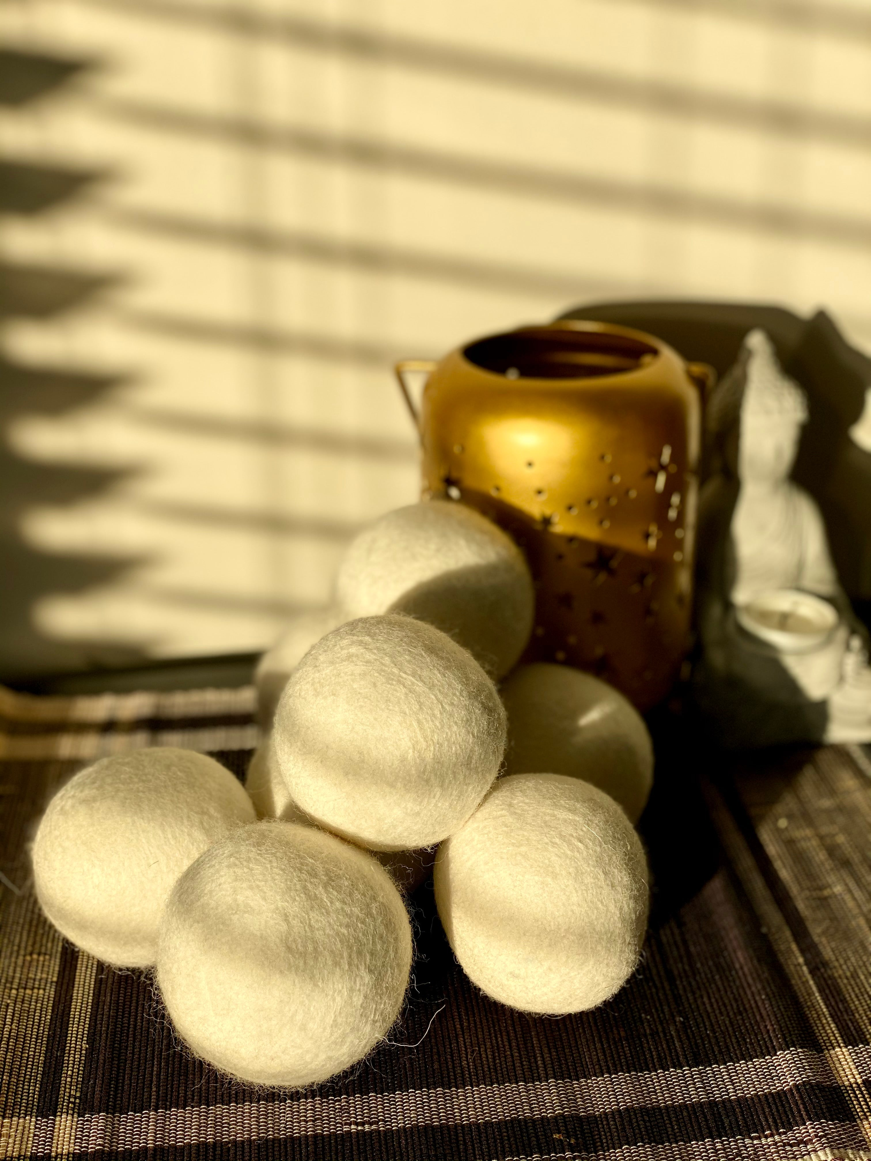 Reusable Wool Dryer Balls