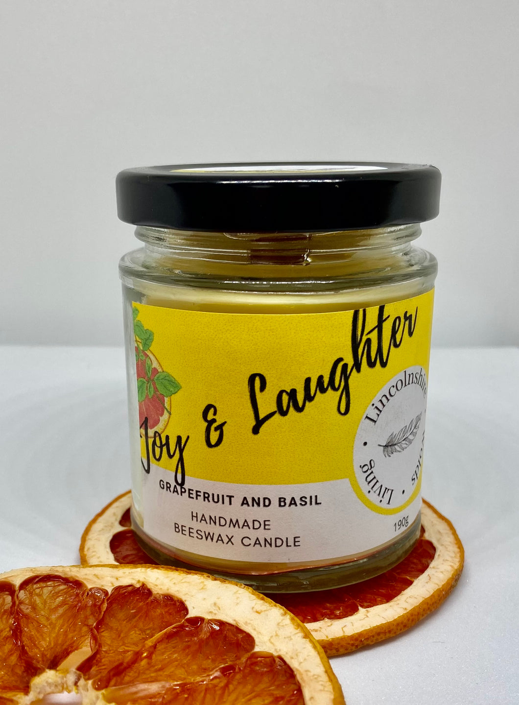 Joy & Laughter - Grapefruit and Basil