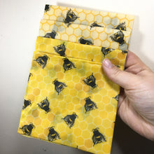 Load image into Gallery viewer, Handmade Beeswax Food Wraps