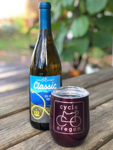 Load image into Gallery viewer, Cycle Oregon 350mL Wine Tumbler