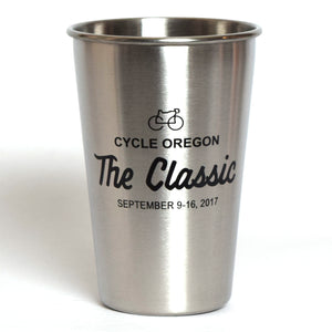 Pint Glass Stainless Steel Classic 2017