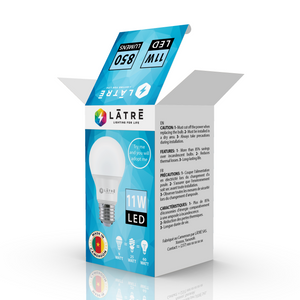 60-Watt Equivalent A19 Dimmable LED Light Bulb fresh light (8-Pack)