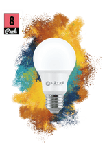 Load image into Gallery viewer, 60-Watt Equivalent A19 Dimmable LED Light Bulb fresh light (8-Pack)
