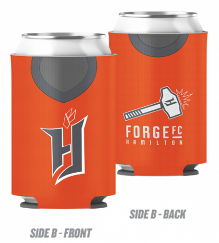 Forge FC Reversible Jersey Can Cooler
