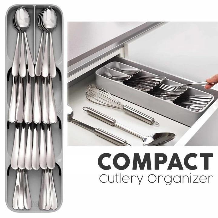 Compact Cutlery Organizer