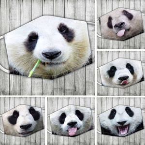Panda Face  (Includes six different models)- on sale