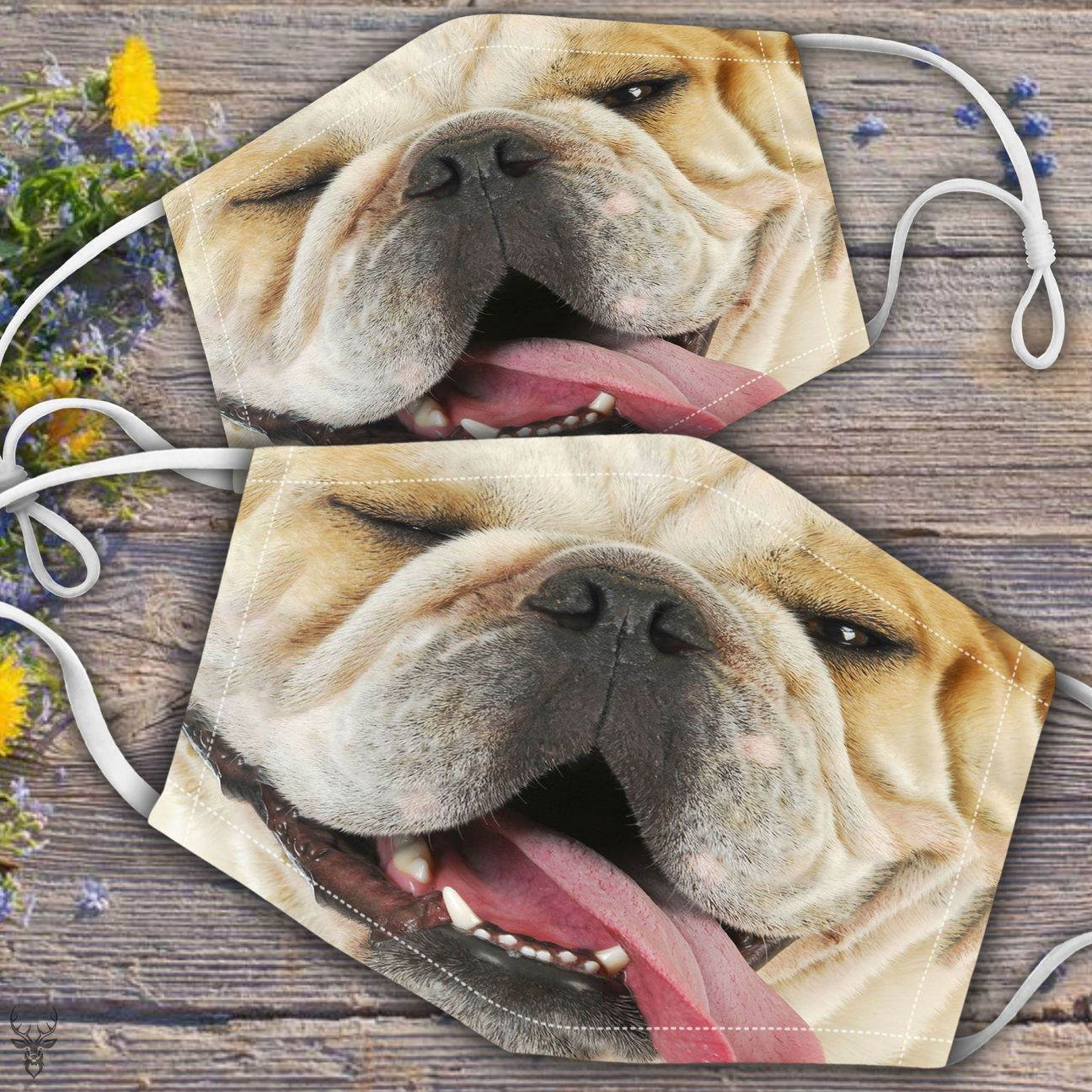 🐕Bulldog Face 🐕 (Includes six different models)- on sale