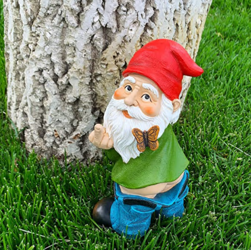 Pants  Down Gnome