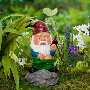 Bathroom Garden Gnome