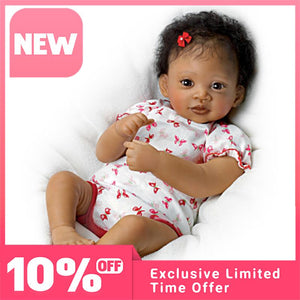 "🔥""Sweet Butterfly Kisses""  Terry Quality Realistic Handmade Baby Dolls Girl Toy🔥"