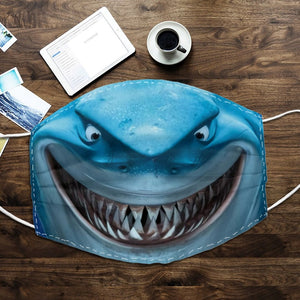 Shark Face Mask - 2