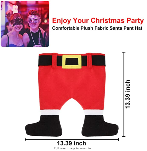 2020 New Crazy Santa Pants Hat for Christmas-one size for all