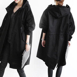 Hot!Water Resistant Oversized Hooded Windbreaker Rain Jacket