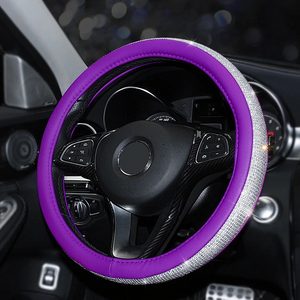 【BUY 2 FREE SHIPPING】Bling Steering Wheel Cover