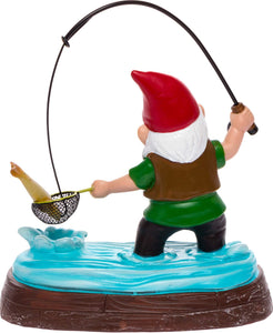 Fishing Garden Gnome