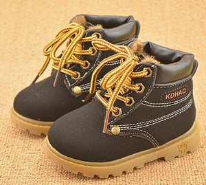Spring Autumn Winter Children Sport Martin Boots