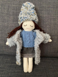 Rag doll with big set of clothes(PRE ORDER.NEXT SHIPPING DAY 15 DAYS)