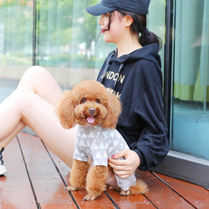 Dog Clothes Teddy Chihuahua Clothes Autumn/Winter Cat Coat Warm Costume for Small Dogs