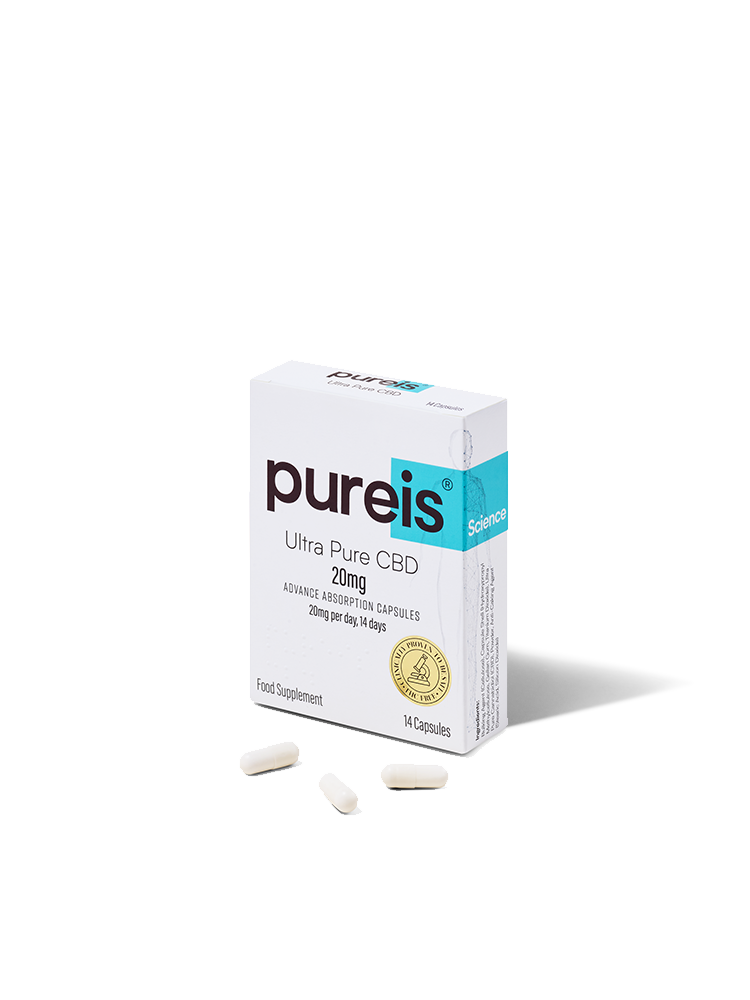 Advanced Absorption Capsules, 20mg per day, 14 days