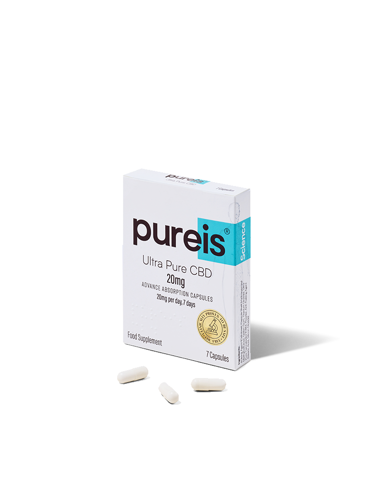 Advanced Absorption Capsules, 20mg per day, 7 days