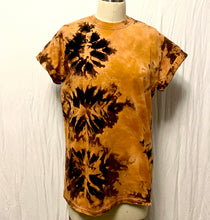 Load image into Gallery viewer, Iron and Rust Shibori Bleach Tee