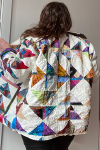 Fly Away Quilted Chore Jacket *made to order*