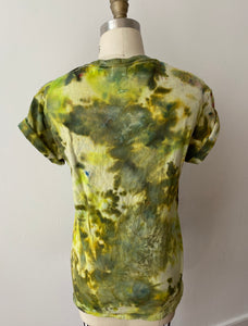 Evergreen Shibori Tee
