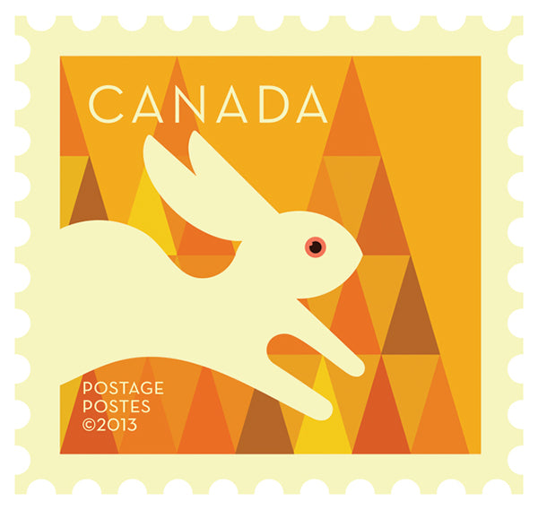 RABBIT - CANADA POST COLLECTION