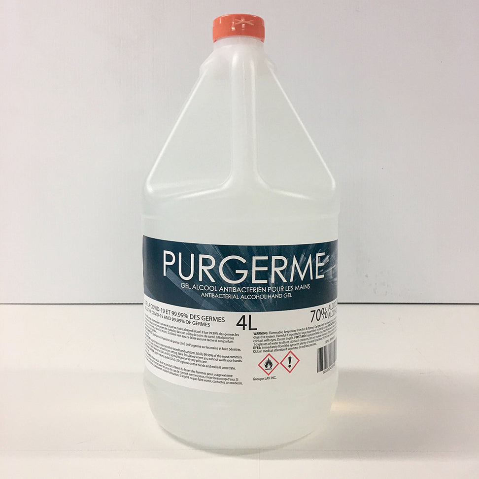 PURGERM GEL ANTISEPTIQUE - 4L