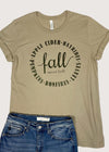 Apple Cider Hayrides Graphic Tee