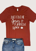 Jesus And Pumpkin Spice Graphic Tee