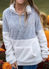 SEARCHING FOR ADVENTURE GRAY PULLOVER SALE
