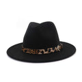 TIME OF YOUR LIFE HAT BLACK ANIMAL PRINT