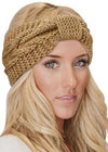 HAPPY ON MY OWN KNIT HEAD WRAP