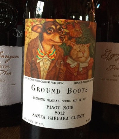 Ground Boots Pinot Noir
