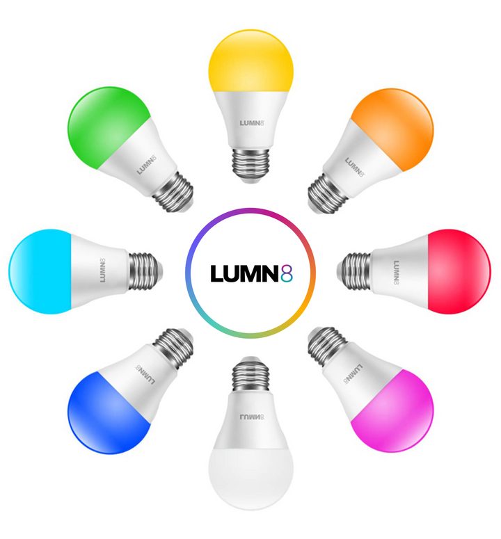The Amazing LUMN8™️ Smart RGB Bulb